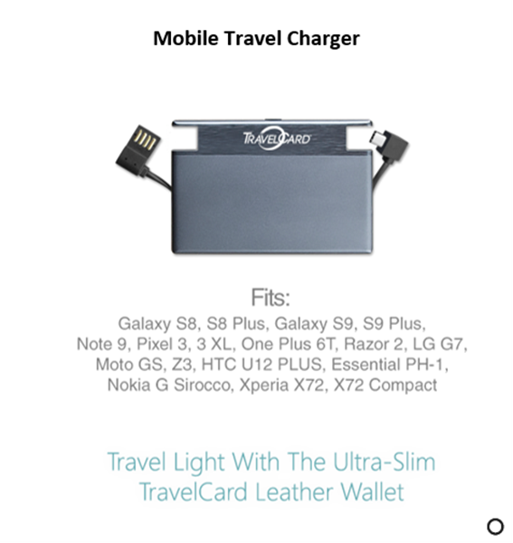 Picture of Mobile Travel Charger